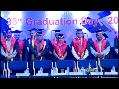 Ramaiah Medical College Graduation Day 2017 - Video No. 1