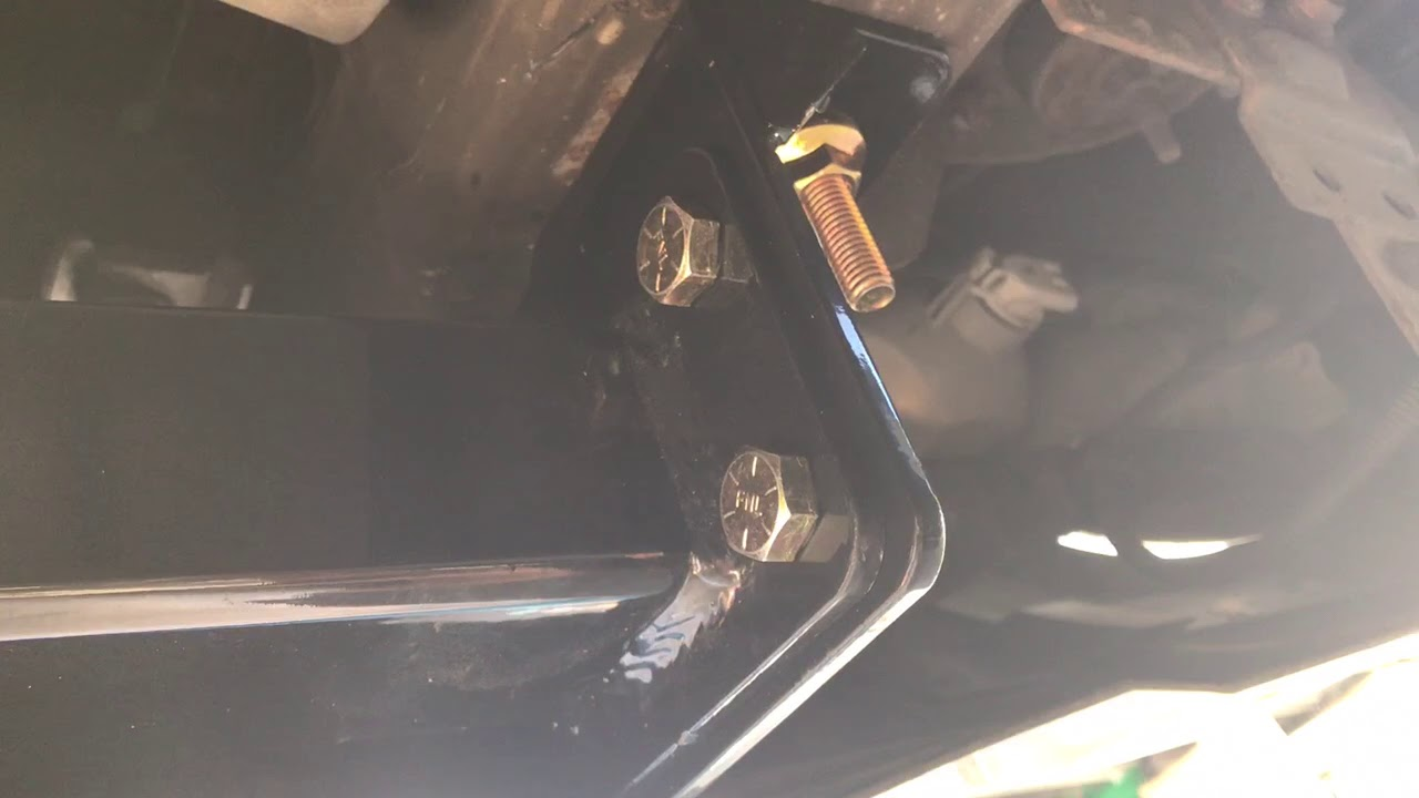 2005 Chevy Avalanche Curt 31302 Front Hitch Install Part 1
