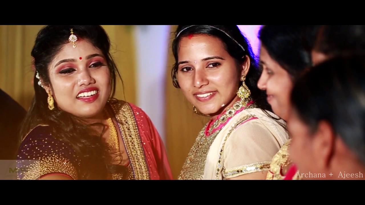 Ajeesh marriage photos