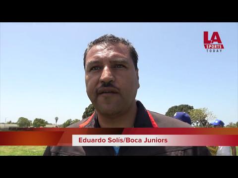 Boca Juniors vs. OUFC, Coast Soccer League en Oxnard
