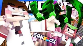 초초초거대 식인식물을 만난 도티, 쵸우, 코아 연구원!! [샌드박스 연구소: 마인크래프트 상황극] Minecraft - Role Play - [도티]