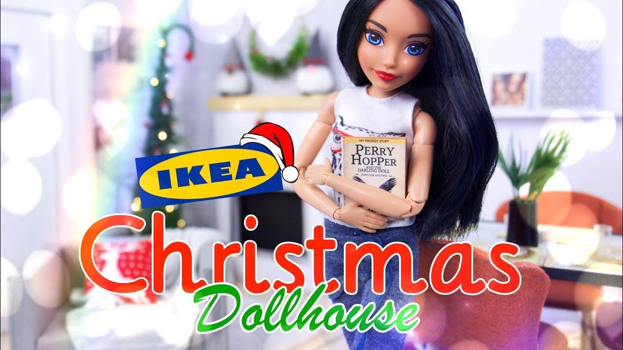 DIY - How to Make: IKEA Christmas Dollhouse | Tree | Ornaments | Santa Gnomes