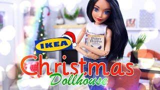 DIY - How to Make: IKEA Christmas Dollhouse   Tree   Ornaments   Santa Gnomes
