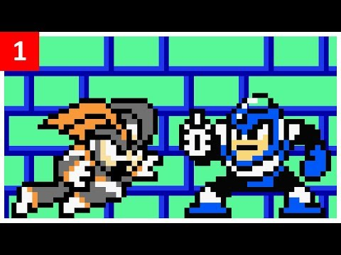 Mega Man 2 And Bass Version 1.0.0 Playthrough: Part 1