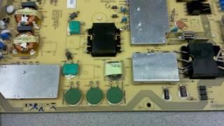 HOW TO repair Sharp Aquos LC-70LE632U LC-70LE732U dead, DPS-222BP power has no standby
