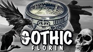 Folding a Gothic silver florin coin ring - part 2