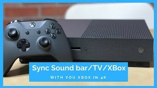How to Connect Xbox One to a sound bar WORKS!!