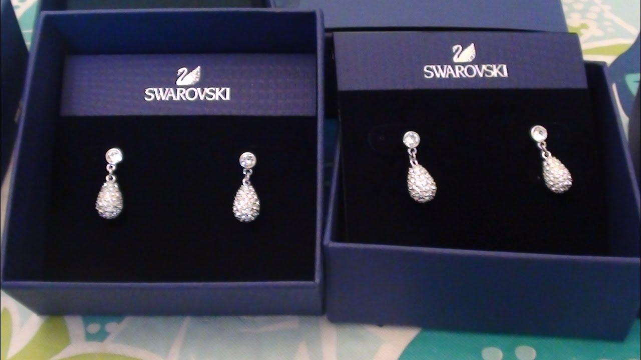 SWAROVSKI Earrings Heloise Crystal Teardrop