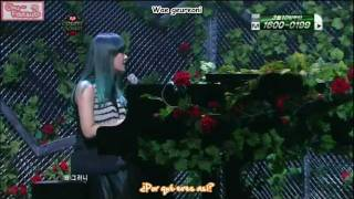 [Subs Español] Secret (Song Ji Eun) - Go Crazy (Live on M!C 110303)
