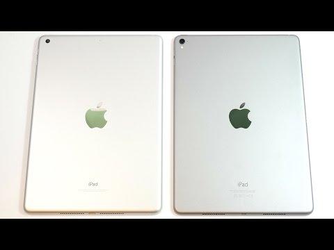 2017 iPad 9.7 vs iPad Pro 9.7