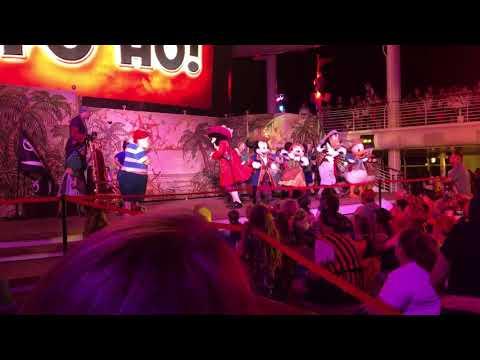 Pirate Mickey Disney cruise