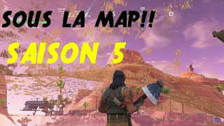 GLITCH SAISON 9!!! GO UNDER THE MAP!! Fortnite royal battle