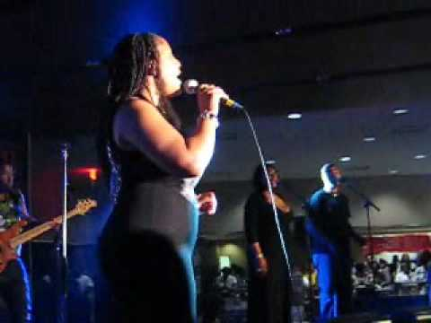 Lalah Hathaway Live at Essence Music Festival 2009