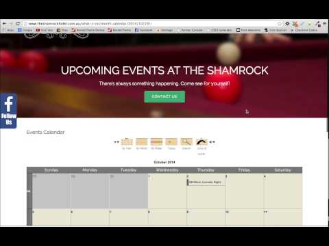 JEvents Event Calendar For Joomla - Tutorial