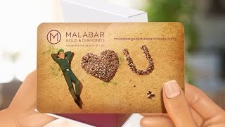 Personalised Gift Cards From Malabar Gold & Diamonds Tvc