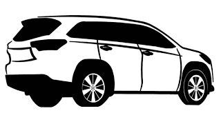 How to Draw a Toyota / Как нарисовать Toyota
