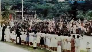 Parti Komunist Malaya Communist Party of Malaya CPM in victory parade