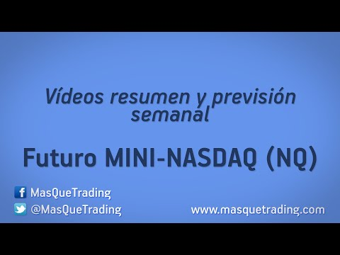 13-10-2014-Trading en español Análisis Semanal Futuro MINI NASDAQ (NQ)
