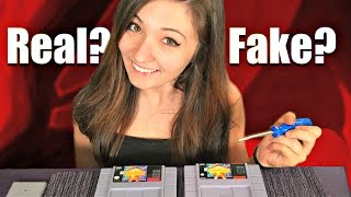 How to Spot FAKE Nintendo Games - Buyer BEWARE!!
