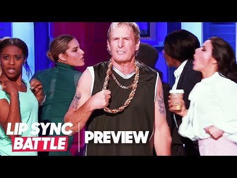 """Michael Bolton's Living in a """"Gangsta's Paradise""""  Lip Sync Battle Preview"""