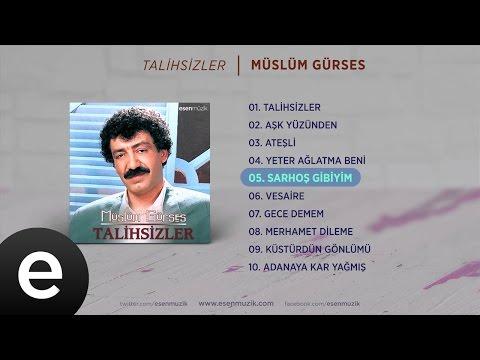 Sarhoş Gibiyim (Müslüm Gürses) Official Audio #sarhoşgibiyim #müslümgürses - Esen Müzik