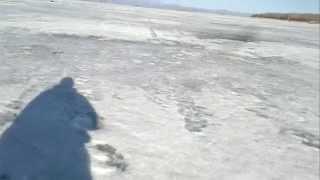 Зимняя рыбалка на Байкале )