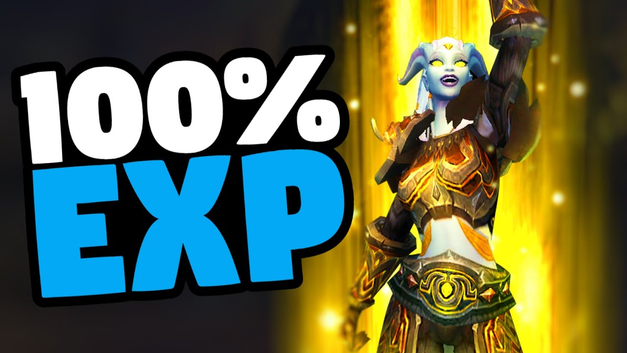 WoW 100% Experience Buff Through April 20 | Mmorpg | World Of Warcraft: Battle For Azeroth