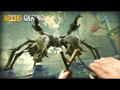 How To Tame A Crab!!! - ARK Survival Evolved