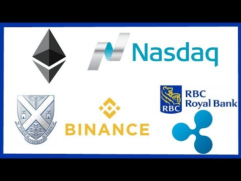Ethereum Selloff - Nasdaq Crypto Tools - Malta Stock Exchange Binance - Royal Bank of Canada Ripple