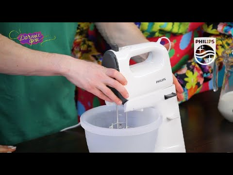 Миксер электрический Philips HR3745/00: рецепт блинного торта с грибами