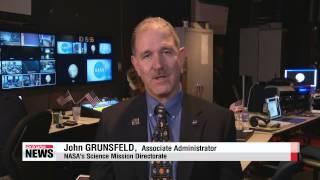 U.S. spacecraft sends back first images of dwarf planet Pluto   뉴호라이즌스 명왕성 최근접…인