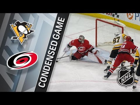 Pittsburgh Penguins vs Carolina Hurricanes – Feb. 23, 2018 | Game Highlights | NHL 2017/18. Обзор