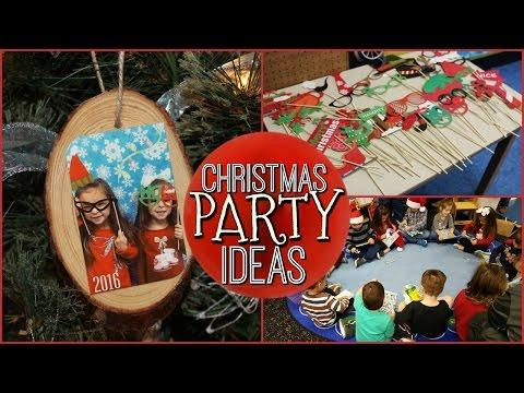SCHOOL CHRISTMAS PARTY IDEAS | DIY KEEPSAKE ORNAMENT | PHOTO BOOTH