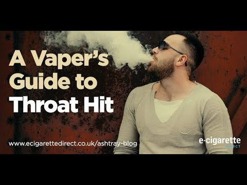 Why You Get Throat Hit When Vaping And How To Prevent It