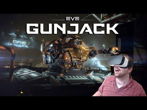 EVE Gunjack - Samsung Gear VR Gameplay