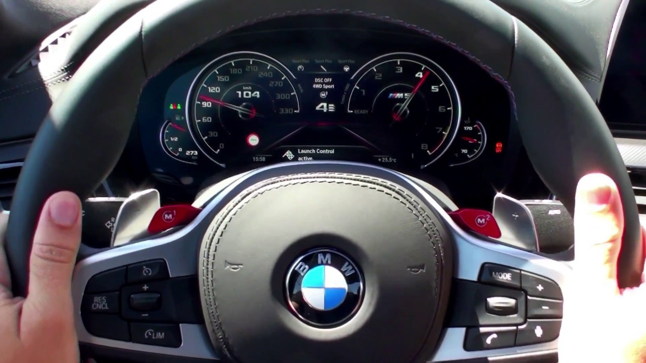2018 Bmw M5 Acceleration 600hp 0 100 Kph