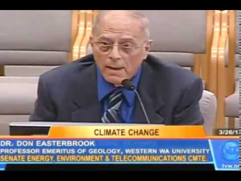 The IPCC myths about global warming explained in detail by Dr. Don Easterbrook