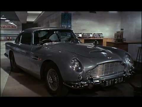On Tour With The Aston Martin DB5 James Bond 007 1964