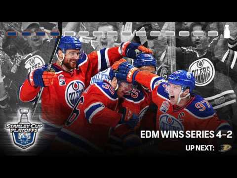 Oilers 2017 Playoffs Round 1 vs Sharks - Warriors