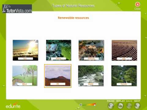 Types Of Natural Resources