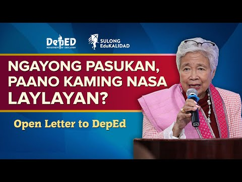 KAMING NASA LAYLAYAN: Open Letter To DepEd From A Single Parent | Opening Of Classes 2020-2021