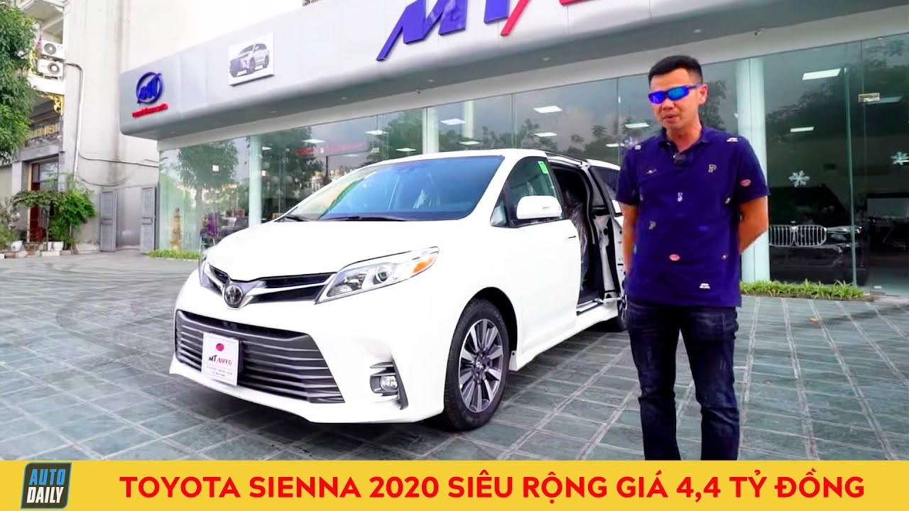 Đánh giá Toyota Sienna 2020: Minivan siêu rộng giá 4,4 tỷ đồng |2020 Toyota Sienna Review Autodaily|