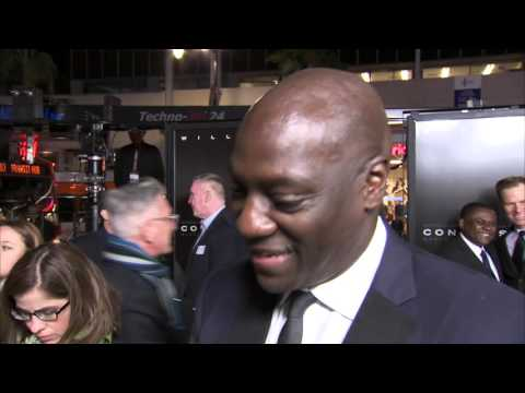 "Concussion: Adewale Akinnuoye-Agbaje ""Dave Duerson"" Red Carpet Movie Premiere Interview"