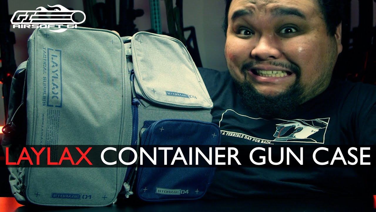 THE LAST GUN BAG YOU'LL EVER NEED! - Laylax Container Gun Case | Airsoft GI