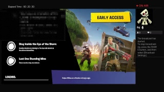 Fortnite on SBS! Come hang and get a chance to play with me! Interactive fun gameplay! Great day!