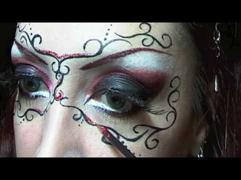 Makeup tutorial Carnival Mask