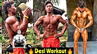 New Powerful Mix Desi Workout || Muscular Hard Workout || Popular Powerful Bodybuilding