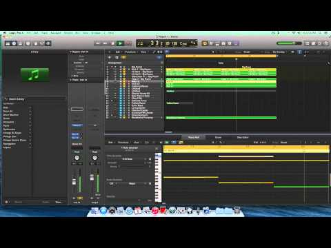 how to make music on logic pro x