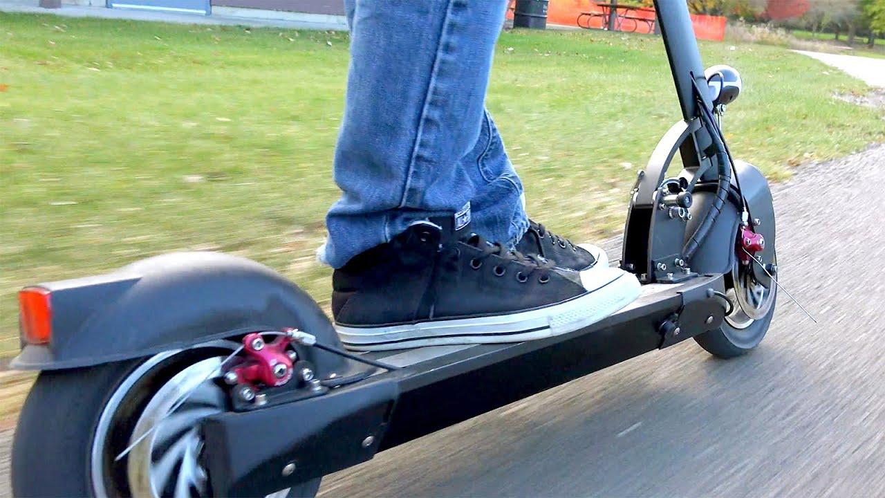 Fast Electric Scooter >> Fast Electric Scooter Monorover R4
