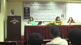 Lecture on Adding content to cordiality -- the transformation of India-Brazil relations